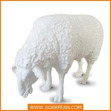 Garden Decoration Fiberglass Life Size Sheep