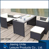 5pc dining set-wicker outdoor furniture