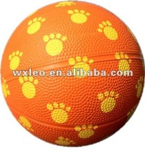 Toy size 7 Rubber Basketball colorful basketball