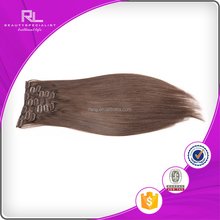 Cheap 100% human hair natural clip in hair extension for afro american