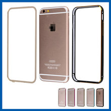 C&T New Arrival Aluminum Metal Bumper Clear Back Case Cover for iPhone 6s