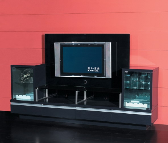 Modern Designs Lcd Tv Cabinet Design Made In Three Layers