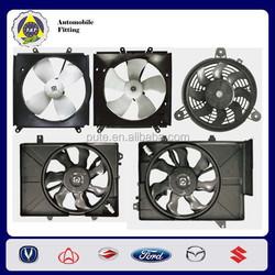 cooling fans dc 12v mini car fan for Toyota Corolla,Daewoo,Hyundai 16363-64030 ,16363-74020,96164864,25380-1C160