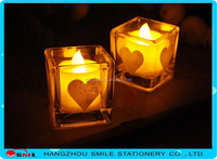 simulated flame artificial remote control led candle