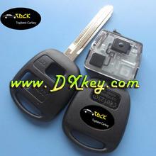 Good price 3 button car remote key 433 Mhz,4D67 chip for Toyota key toyota smart key remote