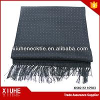 100% Silk Printed Twill Scarf
