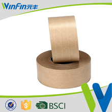 high viscosity adhesive kraft paper tape with solv