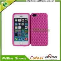 Smart silicone customize mobile phone cover
