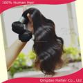 Precio de fábrica 18 pulgadas virgin hair products, pelo brasileño teje extensiones bundles para mujeres