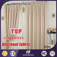 Fashion Home Textile Line Jacqurd Polyester big decorationribbed pvc curtains