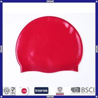 cool fuuny swimming cap silicone