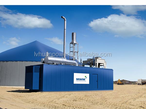 Garantie internationale serive 600kw m thane biogaz for Combien coute un groupe electrogene