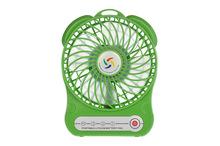 Rechargeable mini squirrel cage fan led mini fan