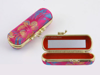 Cosmetic case Fashion design make up case with light mirror
