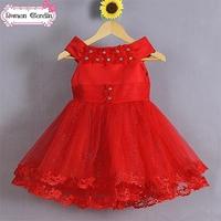 pakistan fashion girls dress 2014 baby girl red designer one piece party dress