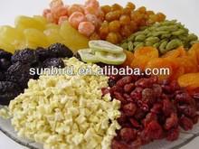 sweet mixed dried fruit/fruit/dates/goji cherry/raisin /pineapple /mango for organic food