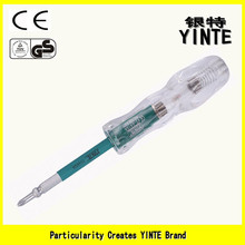 China Factory Two ways use Ordinary test pen with Acrylic crystal handle and 6150 CR-V tool rod