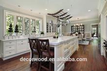 Muebles de madera sólida personalizados para cocina, estilo italiano, bonitos