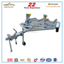 galvanized steel inflatable rc trucks boat trailer with roller