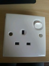 stock PC AND COOPER 13A uk wall socket outlet