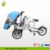 Innovative Stroller Bike Mother And Baby Wagon Tricycle Cargo Trailer With Twins