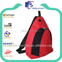 Wellpromotion 600D polyester trendy sling bag
