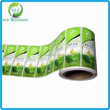 Custom roll printing waterproof vinyl adhesive label