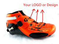 carbon shell speed skate patin shoes