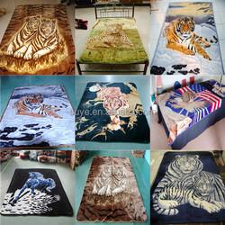 Chinese 100% polyester blanket printed animal blanket/china blanket factoy