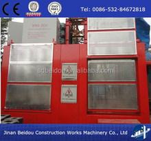 SC200/200 double cage construction passenger hoist/Construction Lift, Passenger & Material Construction Lift, Lift Machine