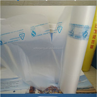 packaging made with printed plastic food bag rolls sealed