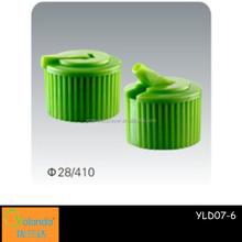 Easy Open Plastic Flip Top Caps for plastic bottle