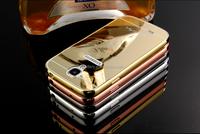 Luxury bumper metal aluminum hard case cover for Samsung galaxy S3 S4 S5 mini i9300 i9500 i9600 S6 edge Note 4