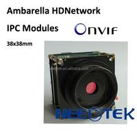 MP HD CCTV CMOS digital Ambarella 1080P security wifi camera modules with ONVIF H.264