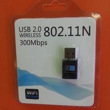 mini wifi adapter,usb wireless 300M networking card,wireless Lan adapter