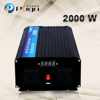 New solar dc inverter air conditioner 2000w power supply