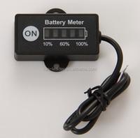 12V Battery Meter Digital for E-bike Club Buggy