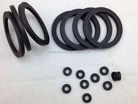 Custom high temperatur rubber gasket rubber glazing gaskets 3 rubber gasket