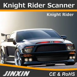56cm 48 LED SMD 5050 RGB Car Auto Flash Knight Rider Scanner Bars Strobe Light Waterproof