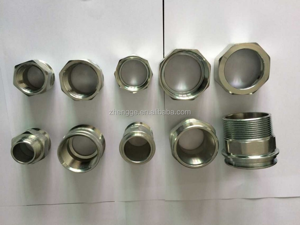 Carbon steel fittings zinc plated union pipe