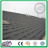 Colorful all kinds fiberglass asphalt shingle glaze french roof tile with low price