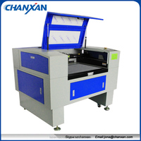 High precision! 40W laser engraver machine for models / designs Skype:szchanxan