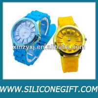 2013 Hot sale New Cheap Silicone Watches Silicone Band Wristband Watches Wholesales 12 Colors Quartz Watch for Women