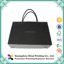 new Recyclable nature color luxury cheap paper hand carrying bag