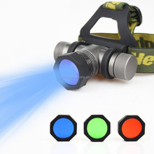 china supplier 2015 best price Q5 led headlight With 3 Color Lens Color Changeable Multifunction