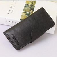 Wholesale leather wallet lady wallet fashion fancy bags leather lady wallet india