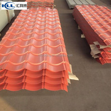 YX25-305-970 corrugated steel flat roofing tile prices