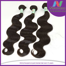 body wavy kinky curly Newness hair thick ends unprocessed virgin sticker hair extensions