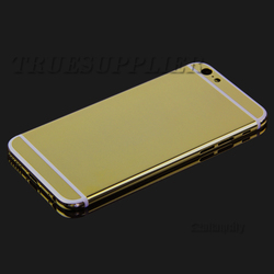 For iPhone 6s gold mobile back cover housing panel with sides keies