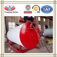 Horizontal Natural Gas Fired Oil Heating Thermal Oil Boiler